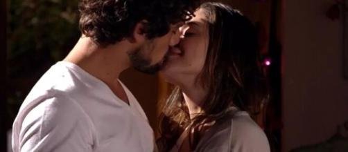 Rodrigo e Ana em 'A Vida da Gente'. (Foto: Globo).