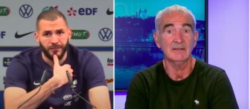 Le coup de gueule de Domenech contre Benzema - Photo captures d'écran vidéos Youtube