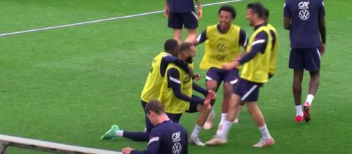 Photo capture d'écran vidéo Équipe de France