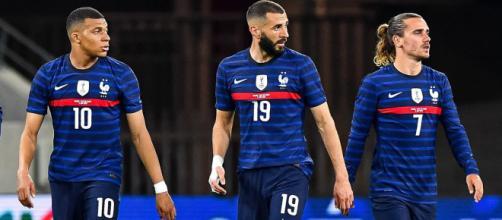 Screen Instagram / Equipe de France