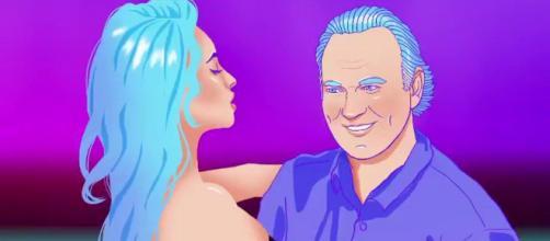 Bertín Osborne en el videoclip de su nuevo tema (Cartel promocional)