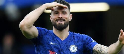 Giroud del Chelsea piacerebbe al Milan.