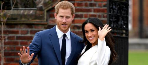 Harry y Meghan el día de su compromiso. La pareja ya tiene dos hijos: Archie Harrison y Lilibet Diana. (Foto oficial)