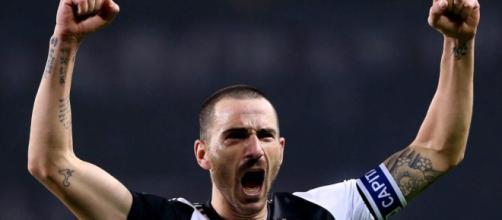 Leonardo Bonucci, difensore della Juventus.