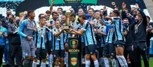 Trio da base merece mais chances no Grêmio (Lucas Uebel/Grêmio FBPA)