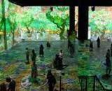 Immersive Van Gogh exhibit (Image source: Roman Boldyrev/Flickr)