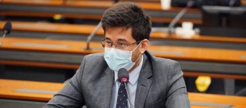 Antes apoiador, deputado Kim Kataguiri hoje é oposição ao presidente Bolsonaro (Pablo Valadares/Câmara dos Deputados)