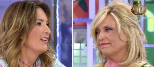 Laura Fa y Lydia Lozano inmersas en una agria discusión (Telecinco)