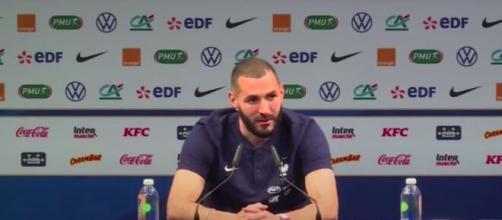 Les confidences de Karim Benzema sur son retour à Clairefontaine - Photo capture d'écran vidéo YouTube ok