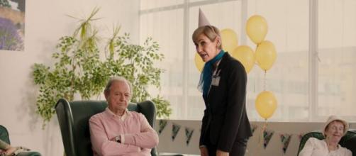 Phil unhappy in the care home (Image source: Krindy)