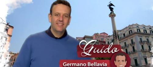 Un posto al sole, Guido Del Bue (Germano Bellavia) in un frame della sigla.