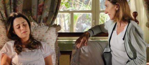 Ana tem recaída em 'A Vida da Gente' (Reprodução/TV Globo)