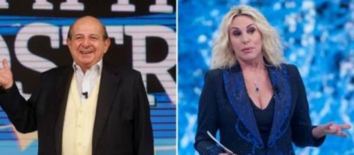 Giancarlo Magalli e Antonella Clerici.