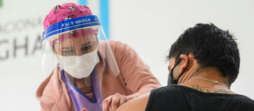 La enfermera que falleció por coronavirus había sido contratada durante el año 2020 en el hospital de Buenos Aires (Twitter, @msalnacion)