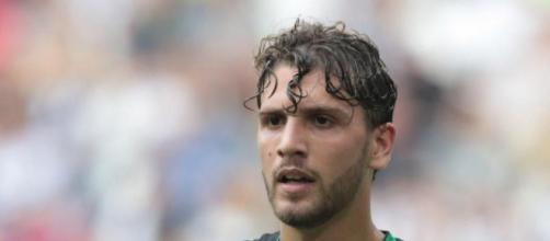 Manuel Locatelli, centrocampista del Sassuolo.