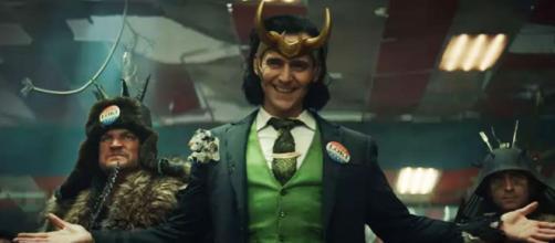 Tom Hiddleston é o protagonista da série 'Loki', do Disney+ (Divulgação/Disney)