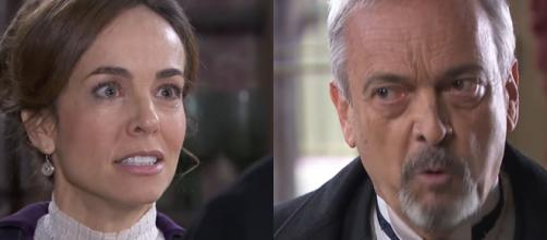 Una vita, trame spagnole: Armando affronta Felicia dopo la scoperta dell'arresto di Maite.