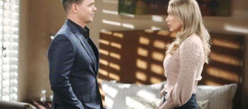 Beautiful, puntate 4-10 luglio: Flo chiede a Wyatt di mandare via di casa Sally.