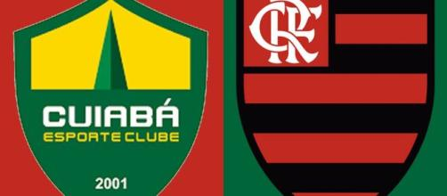 Cuiabá x Flamengo fecha a oitava rodada (Arte/Eduardo Gouvea)