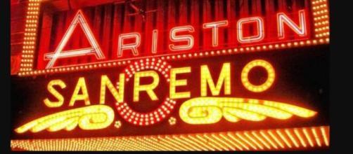 Una foto dell'Ariston dove si svolge il Festival di Sanremo