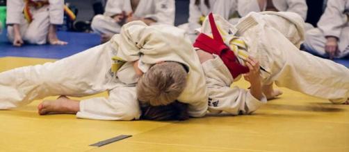 Imagen de archivo de una práctica de judo entre dos niños. (Pixabay)