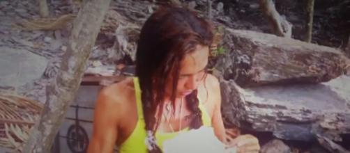 Olga Moreno lee la correspondencia de su marido emocionado sin saber aún la alusión a Rocío Carrasco - (Telecinco)