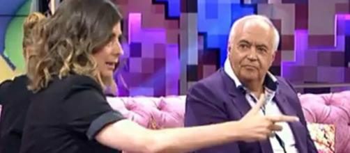 Sandra Barneda fue amenazada por José Luis Moreno (mediaset)