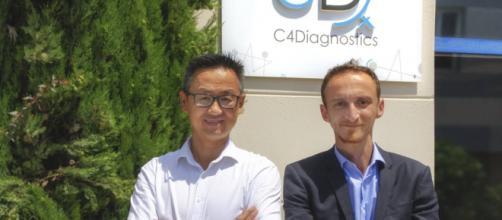 Thomas TRAN, Directeur général et Younes LAZRAK, co-fondateur et PDG - Source : C4Diagnostics