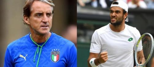 Roberto Mancini a Wembley, Matteo Berrettini a Wimbledon: i due sogni italiani.