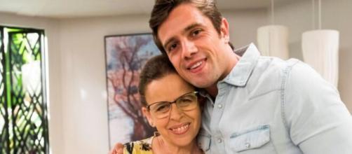 Lúcia e Renzo em 'Salve-se Quem Puder' (Reprodução/TV Globo)