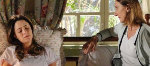 Ana fica arrasada em 'A Vida da Gente' (Reprodução/TV Globo)