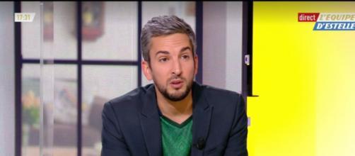Thibaud Vézirian capture d'écran vidéo L'Équipe d'Estelle