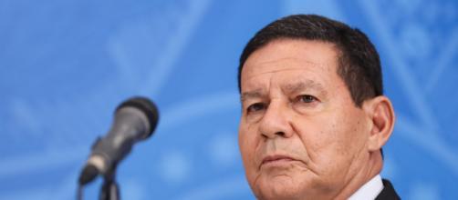 Vice-presidente Mourão diz que irá acontecer eleição em 2022 (Isac Nóbrega/PR)