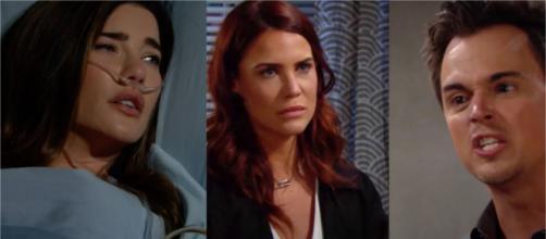 Beautiful, trame al 25-07: Steffy in ospedale, Wyatt scopre che Sally non sta morendo.