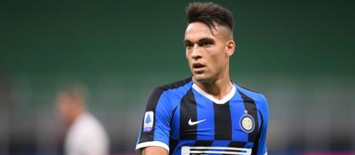 Lautaro Martinez, attaccante dell'Inter e dell'Argentina.