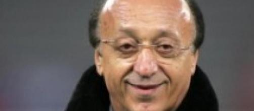 Luciano Moggi, ex direttore generale della Juventus.