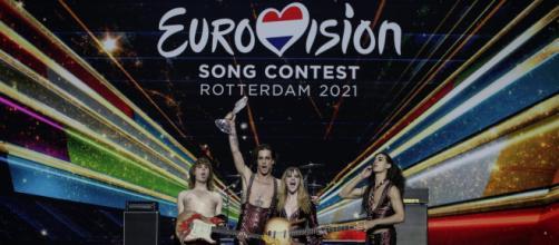 Maneskin dopo la vittoria a Eurovision Song Contest.