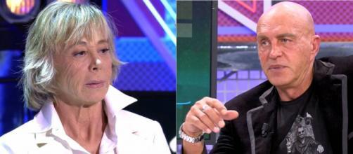 Marta Roca y Kiko Matamoros. (Telecinco)