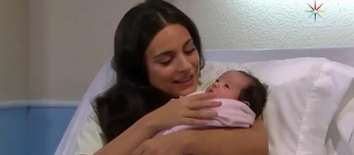 Nasce a filha de Maricruz (Reprodução/Televisa)
