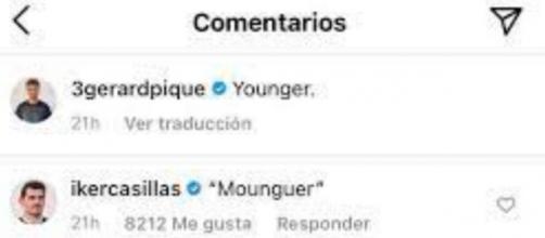 El defensa del Barcelona no ha dejado escapar la polémica de los audios para responder a Iker Casillas (Instagram; 3gerardpique)