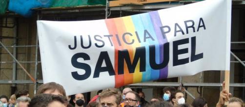 La gente sale a la calle pidiendo justicia para Samuel Luiz (Wikimedia)