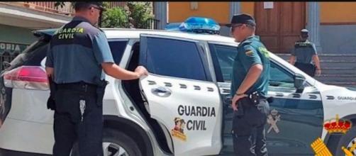 La Guardia Civil de Almería ha detenido al agresor (Twitter, @gcalmeriaopc)