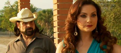 Lúcia cede à pressão de Eusébio em 'Coração Indomável' (Divulgação/Televisa)