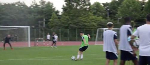 Photo Florian Thauvin capture d'écran vidéo Twitter équipe de France