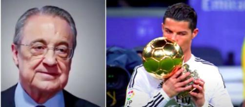 Photos Florentino Pérez et Cristiano Ronaldo YouTube