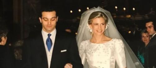 Ramón García llevaba más de 24 años casado y Patricia quiso recordarlo hace solo unos meses en sus redes - (Instagram@paticerezo)