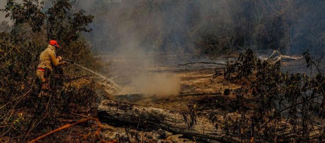 Governo retira do Inpe divulgação de dados sobre queimadas
