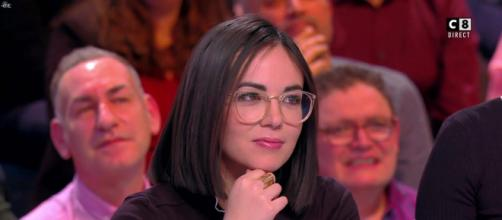 Agathe Auproux dans l'émission TPMP. Source : capture d'écran C8.