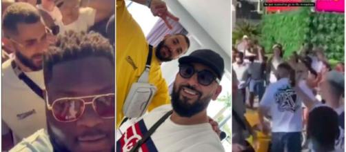 Benzema prend du bon temps en vacances - Photo captures d'écran vidéo et Twitter