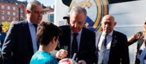 """Florentino Pérez califica de """"enfermo"""" a Cristiano Ronaldo en sus audios difundidos (Twitter; realmadrid)"""